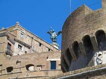 19 06 2017, Ρώμη, Ιταλία: Το κάστρο του ιερού αγγέλου, Αδριανός Μ Στοκ φωτογραφίες με δικαίωμα ελεύθερης χρήσης