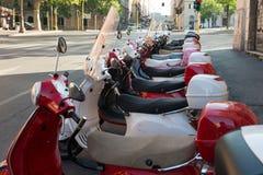 Ρώμη Ιταλικά μηχανικά δίκυκλα Στοκ εικόνα με δικαίωμα ελεύθερης χρήσης
