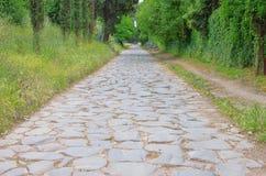 Ρώμη μέσω Appia Antica Στοκ φωτογραφία με δικαίωμα ελεύθερης χρήσης