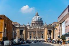 Ρώμη - 21 Μαρτίου Στοκ φωτογραφία με δικαίωμα ελεύθερης χρήσης