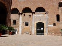 Ρώμη - μοναστήρι των μοναχών Agostinian Στοκ φωτογραφία με δικαίωμα ελεύθερης χρήσης