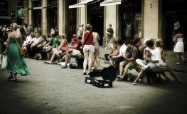 Ρώμη οδός Στοκ Φωτογραφίες