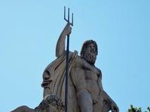 Ρώμη - Ποσειδώνας Piazza del Popolo στοκ φωτογραφία με δικαίωμα ελεύθερης χρήσης