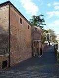 Ρώμη - πρόσβαση στο Σαν Κλεμέντε Στοκ Εικόνες