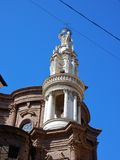 Ρώμη - πύργος κουδουνιών της βασιλικής Sant ` Andrea delle Frate Στοκ εικόνα με δικαίωμα ελεύθερης χρήσης