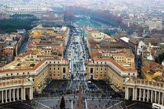 Ρώμη σε Βατικανό Στοκ Εικόνες
