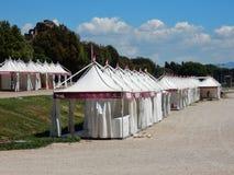 Ρώμη - στάσεις φυλών για τη θεραπεία στο τσίρκο Maximus Στοκ Φωτογραφίες
