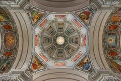 Ρώμη - στέγη της εκκλησίας SAN Luigi, austra Στοκ Εικόνα