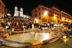 Ρώμη τή νύχτα Στοκ Φωτογραφία