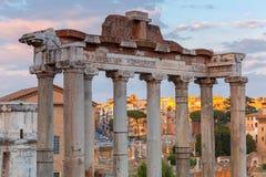 Ρώμη Φόρουμ πόλεων Στοκ Εικόνες