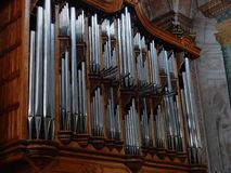 Ρώμη - όργανο της βασιλικής του degli Angeli της Σάντα Μαρία και των μαρτύρων Στοκ εικόνες με δικαίωμα ελεύθερης χρήσης