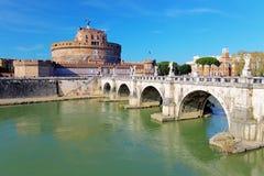 Ρώμη - Castel Άγιος Angelo, Ιταλία Στοκ Εικόνα