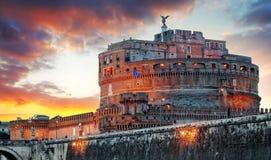 Ρώμη - Castel Άγιος Angelo, Ιταλία Στοκ Εικόνες