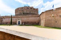 Ρώμη - Castel Άγιος Angelo Ιταλία Στοκ Φωτογραφία