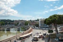 Ρώμη - Castel Άγιος Angelo Ιταλία Στοκ Εικόνα