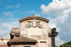Ρώμη - Castel Άγιος Angelo Ιταλία Στοκ φωτογραφίες με δικαίωμα ελεύθερης χρήσης