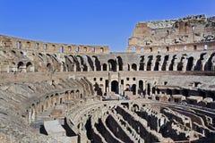 Ρώμη Coliseum μέσα Στοκ εικόνες με δικαίωμα ελεύθερης χρήσης