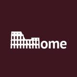 Ρώμη - Colosseum διανυσματική απεικόνιση