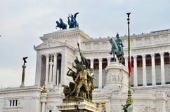 Ρώμη, della Patria Altare Στοκ Φωτογραφίες