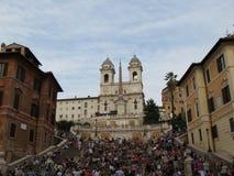 Ρώμη, Piazza Di Spagna Στοκ Εικόνα
