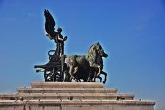 Ρώμη-Vittorio Emanuele ΙΙ Στοκ εικόνες με δικαίωμα ελεύθερης χρήσης