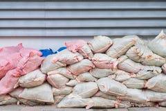 Σάκοι αποβλήτων Στοκ φωτογραφίες με δικαίωμα ελεύθερης χρήσης