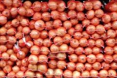 Σάκοι των κρεμμυδιών Στοκ Εικόνες