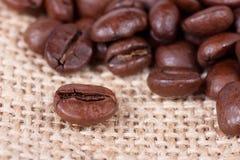 σάκος καφέ φασολιών Στοκ εικόνα με δικαίωμα ελεύθερης χρήσης