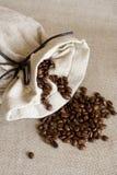 σάκος καφέ Στοκ εικόνα με δικαίωμα ελεύθερης χρήσης