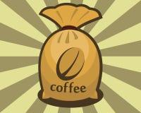 Σάκος των φασολιών καφέ Στοκ εικόνα με δικαίωμα ελεύθερης χρήσης