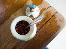 Σάλτσα και τσίλι ψαριών για τα ταϊλανδικά τρόφιμα Στοκ Εικόνα