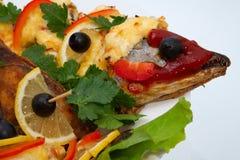 σάλτσα ψαριών κάτω Στοκ Φωτογραφίες