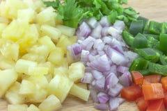 Σάλτσα salsa ανανά Στοκ Εικόνα