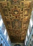Σάντα Μαρία σε Ara Coeli, Ρώμη, Ιταλία Ανώτατο όριο της εκκλησίας Στοκ Εικόνα