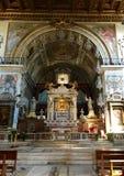 Σάντα Μαρία σε Ara Coeli, Ρώμη, Ιταλία εσωτερικό εκκλησιών Στοκ εικόνες με δικαίωμα ελεύθερης χρήσης