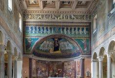 Σάντα Μαρία σε Domnica, Ρώμη Στοκ εικόνα με δικαίωμα ελεύθερης χρήσης