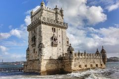 Σάντα Μαρία de Belém Λισσαβώνα στοκ εικόνα