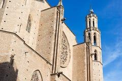 Σάντα Μαρία del Mar Βαρκελώνη στοκ εικόνες