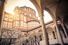 Σάντα Μαρία delle Grazie, Μιλάνο στοκ φωτογραφίες