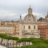Σάντα Μαρία Di Loreto Santissimo Nome Di Μαρία Church η περισσότερη ιερή αγορά Ρώμη Ιταλία της Mary ονόματος Τ Nome Di Μαρία καθι Στοκ Φωτογραφίες