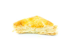 Σάντουιτς ή πίτα που απομονώνεται Στοκ Εικόνα