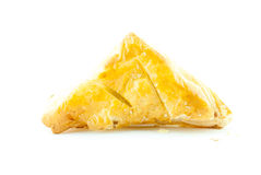 Σάντουιτς ή πίτα που απομονώνεται Στοκ Εικόνες