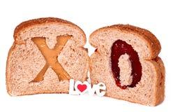σάντουιτς αγάπης Στοκ Εικόνες