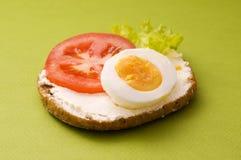 σάντουιτς αυγών Στοκ φωτογραφίες με δικαίωμα ελεύθερης χρήσης