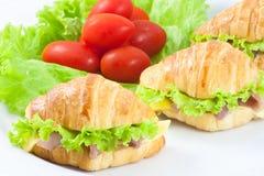 σάντουιτς ζαμπόν τυριών Στοκ φωτογραφία με δικαίωμα ελεύθερης χρήσης