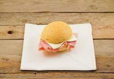 σάντουιτς ζαμπόν τυριών Στοκ Εικόνα