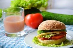 Σάντουιτς διατροφής Στοκ φωτογραφίες με δικαίωμα ελεύθερης χρήσης