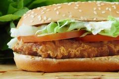 σάντουιτς κοτόπουλου Στοκ Εικόνες