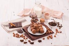 Σάντουιτς κουλουρακιών φουντουκιών Στοκ Εικόνες