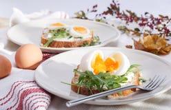 Σάντουιτς με τα αυγά στοκ φωτογραφία με δικαίωμα ελεύθερης χρήσης